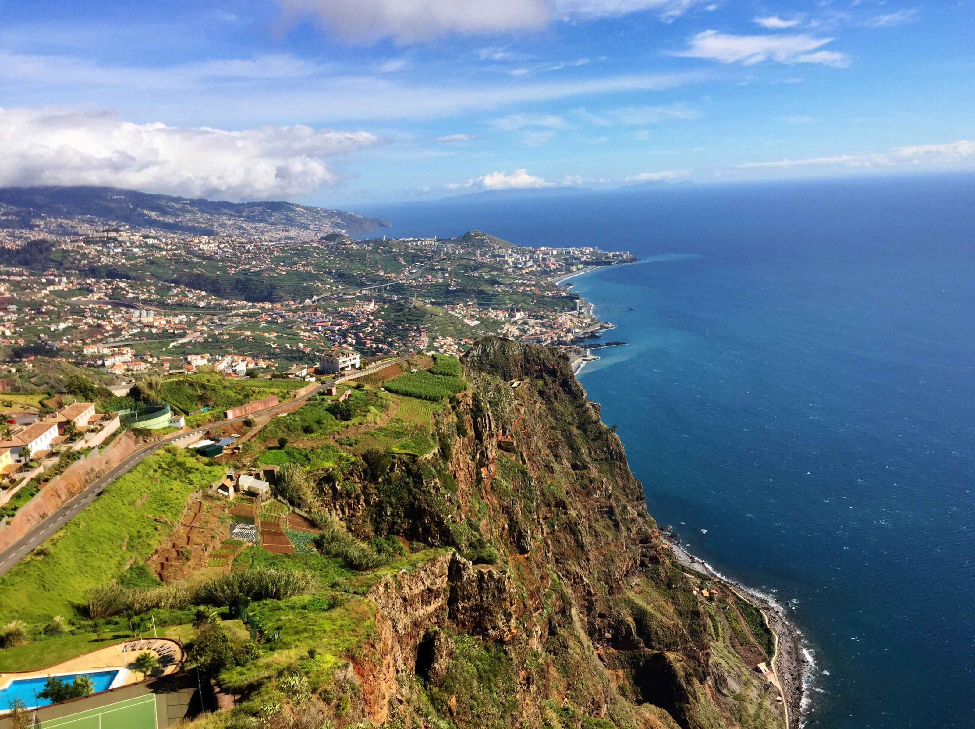 View of Funchal in Madeira Island