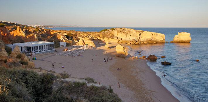 Praia de São Rafael, Albufeira